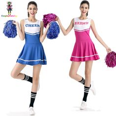 New 6 Colors Girl Aerobics Costume Sports School Girls Cheer Uniforms Adults Sexy Women Basketball Cheerleaders Costumes Outfits Cheer Uniforms, News 6, Aerobics, School Outfits, Cheerleading, Girls, Sexy Women, Ballet Skirt, Costumes