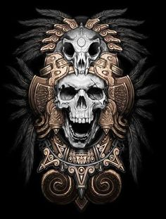 69 trendy tattoo designs quetzalcoatl - DIY And Crafts King Tattoos, Chicano Tattoos, Skull Tattoos, Body Art Tattoos, Sleeve Tattoos, Aztec Tattoo Designs, Skull Tattoo Design, Best Tattoo Designs, Tatuagem Azteca
