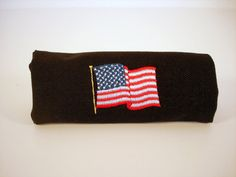 American Flag luggage handle wrap / cover. Made in the USA.