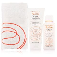 Avene TriXra Plus Selectiose Ultra-Rich Skin Relief Kit 3 piece by Avene. $53.00. Avene TriXra Plus Selectiose Ultra-Rich Skin Relief Kit 3 piece An ultra-rich, skin restoration system that includes a free facial towel. Trixera+ Selectiose Emollient Cleansing Bath and Emollient Balm is a soothing, replenishing bath treatment and gentle cream combo, used for calming and comforting eczema, atopic dermatitis and other severely dry skin conditions. Upon application, the skin...