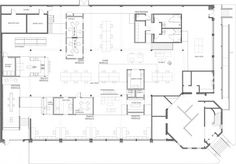 North Advertising Office Floor plan