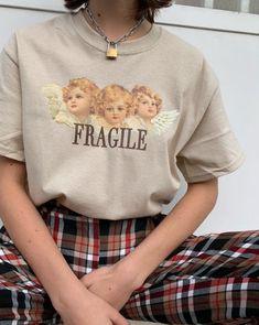 FRAGILE ANGELS TEE 👉 WWW.MINGALONDON.COM