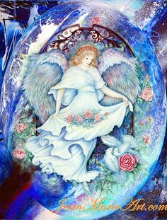 See related links to what you are looking for. Angel Illustration, Angel Warrior, Art Corner, Fun Prints, Mythical Creatures, Soft Colors, Fantasy Art, Fairy, Artwork