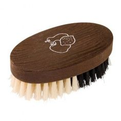 A tough and lovely little fruit and veggie brush made of sustainably harvested wood and natural bristles.