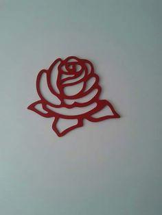 Flor quadro em MDF
