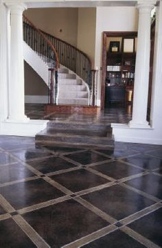 Beautiful entry floor