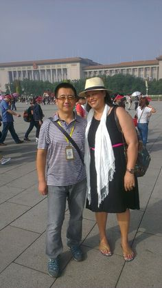 Our awesome guide in #Beijing