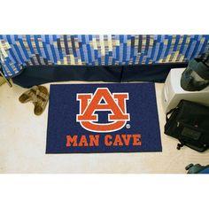 Auburn Tigers NCAA Man Cave Starter Floor Mat (20in x 30in)