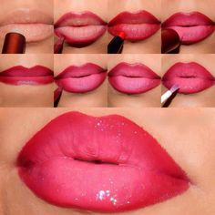 Ombre Lips -Picture Tutorial