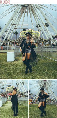Julia Faria at Coachella