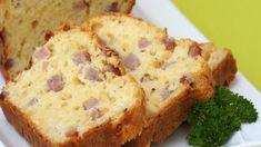 Apprenez à préparer un cake au jambon et au gruyère pour l'apéritif, une recette de cuisine simple et rapide.