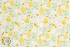Clementine In the Orchard in Ivory, Ana Davis, 100% Cotton Fabric, Blend Fabrics, 113.104.06.2