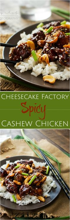 Copycat Spicy Cashew Chicken | The Chunky Chef | This cashew chicken is deliciously spicy and savory, and tastes almost exactly like The Cheesecake Factory's recipe. You won't want takeout anymore!