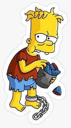 Pop Stickers, Bubble Stickers, Cartoon Stickers, Cartoon Memes, Cartoon Art, Simpsons Drawings, Simpsons Art, Simpson Wallpaper Iphone, Simpsons Characters