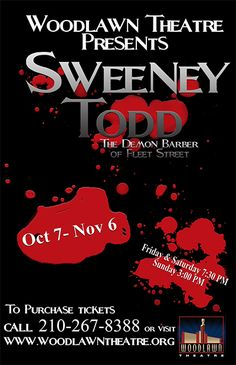 Sweeney Todd. Woodlawn Theatre.