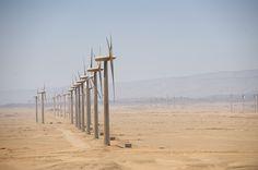 Gulf of SUEZ project, a 250 MW #WindFarm in #RhasGharib #Egypt #WindPower