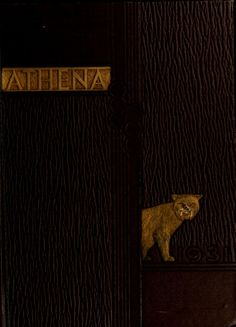 Athena Yearbook, 1931    click image to see the entire yearbook :: Ohio University Archives