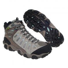 OBOZ Sawtooth Mid Women - Iceburg The Great Outdoors, Trekking, Hiking Boots, Footwear, Shoes, Women, Fashion, Walking Boots, Moda