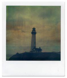 Pigeon Point // Polaroid SX-70 + TZ Artistic Giambarba Edition expired film