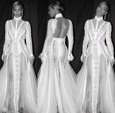 Beyoncé 2016 Grammys . Beyoncé's dress was designed by @InbalDror