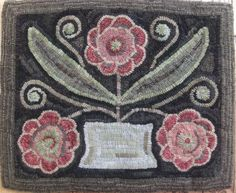 The Wool Cupboard: New Rug Finish and More