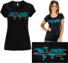Wrap the World in Peace $24 - 100% organic cotton - fair trade from India
