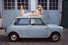 Vogue Italia Beauty January 2012 Barbara Palvin by Miles