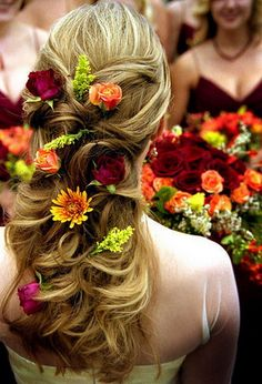 #hairstyle ... #wedding or #Midsummer Night's Dream