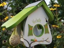 Vogelhaus/Futterhaus: Hochsitz