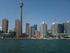Toronto, Summer 2011 Cn Tower, Seattle Skyline, Toronto, Real Estate, Building, Summer, Travel, Summer Time, Viajes