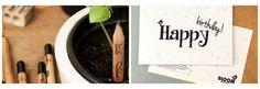 BLOOM your message: het merk voor wenskaarten op bloeipapier! Duurzame bloeikaarten en bloeipotloden. - deco Fleur De Lies