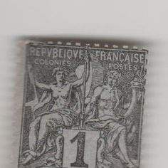 "This stamp is from the French colony of Diego Suarez. Diego-Squarez is a city on the northern tip of Madagascar. It was a french colony until being returned to Madagascar in 1896. This stamp was issued in 1895, using a standard French Colonies stamp with the red ""Diego Suarez"" over print at the bottom."