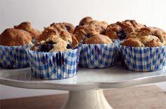 Cookie Cottage: Bosbessen muffins (glutenvrij, eivrij, lactosevrij)