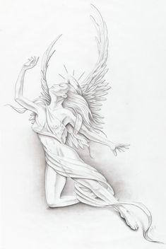 Forasteiro Tattoo: TATTOO ANJO E ANJA