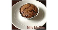 Recipe Milo Muffins by JLC, learn to make this recipe easily in your kitchen machine and discover other Thermomix recipes in Baking - sweet. 5 Recipe, Paper Cupcake, Sweet Recipes, Muffins, Oven, Chips, Community, Baking, Breakfast