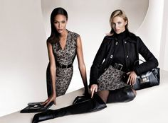 Anja Rubik and Joan Smalls Front Hugo Boss Fall 2013 Campaign | Fashion Gone Rogue: The Latest in Editorials and Campaigns