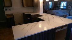 Empire Surfaces: New Cambria Britannica Counter tops installed by E...