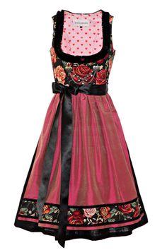 #Farbbberatung #Stilberatung #Farbenreich mit www.farben-reich.ROOSAROTH - Dirndl Couture