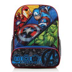 Marvel Avengers vilkkuva reppu