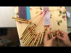 ▶ Encaje de Bolillos. Cruce de estrella - YouTube