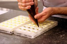 how to make filled molded chocolates! Great resource.  I learned a lot from chocoley!