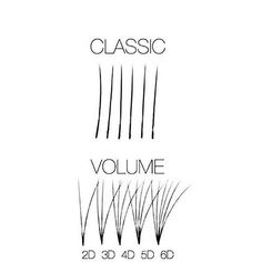 ➕ Lash Extensions ➕ Here is the difference between a 'Classic lash' and a 'Volume lash'. Classic lashes are individual strands of lashes that are applied to ea Beauty Tips For Hair, Natural Beauty Tips, Volume Lash Extensions, Eyelash Extensions, Eyelash Salon, Eyelash Tips, Eyelash Logo, Lash Quotes, Beauty Lash