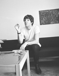 Smoking retro History Paul McCartney