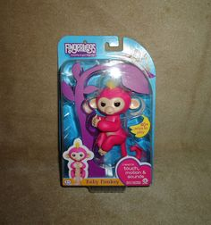 Toys & Hobbies Glorious Wowwee Monkey Fingerlings Pink Bella Turquoise Zoe White Sophie Lot Of 3 A Wide Selection Of Colours And Designs Other Interactive Toys