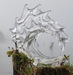 David Wight Glass Art ( Glass wave sculptures / statues ) Weblink: http://www.davidwightglassart.com/ Facebook: https://www.facebook.com/DavidWightGlassArt ( Surfing Surfer Sculpture Statue ) Tel: (360) 389-2844 Email: davidwightstudios@gmail.com.