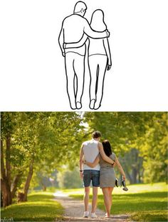 Самые удачные позы для романтической фотосессии