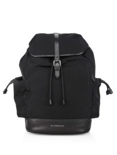 BURBERRY Watson Diaper Backpack. #burberry #bags #leather #polyester #backpacks #