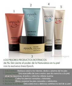 Utilizing ancient traditions of indigenous cultures, our Epoch face and body products feature skin beneficial botancial ingredients derived from renewable sources. Nu Skin, Beauty Box, Beauty Care, Dry Skin Remedies, Epoch, Stretch Marks, Body Butter, Anti Aging Skin Care, Face And Body