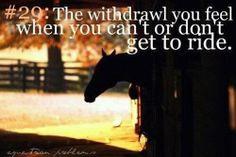 Equestrian problems. So true!