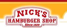 Nick's Hamburger Shop - Since 1929 - Brookings, SD